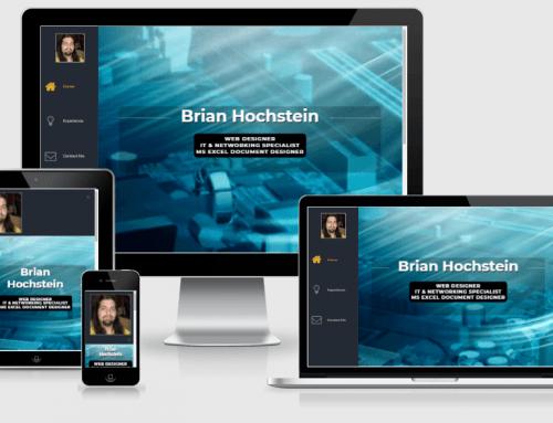 Brian Hochstein Resume